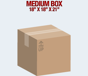 Medium Box Self Storage Units