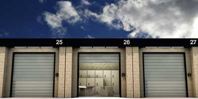 secured storage facility in North York