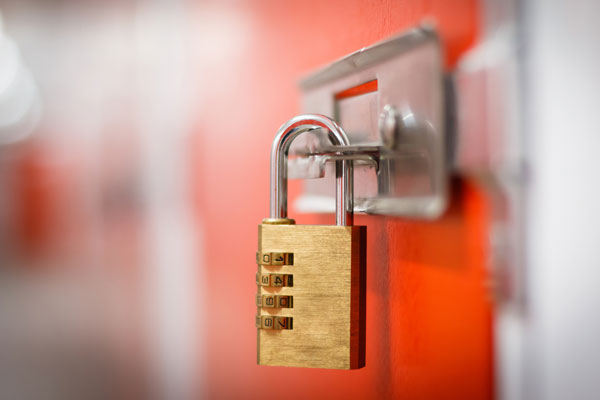 storage padlock