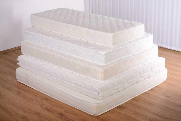 white mattress
