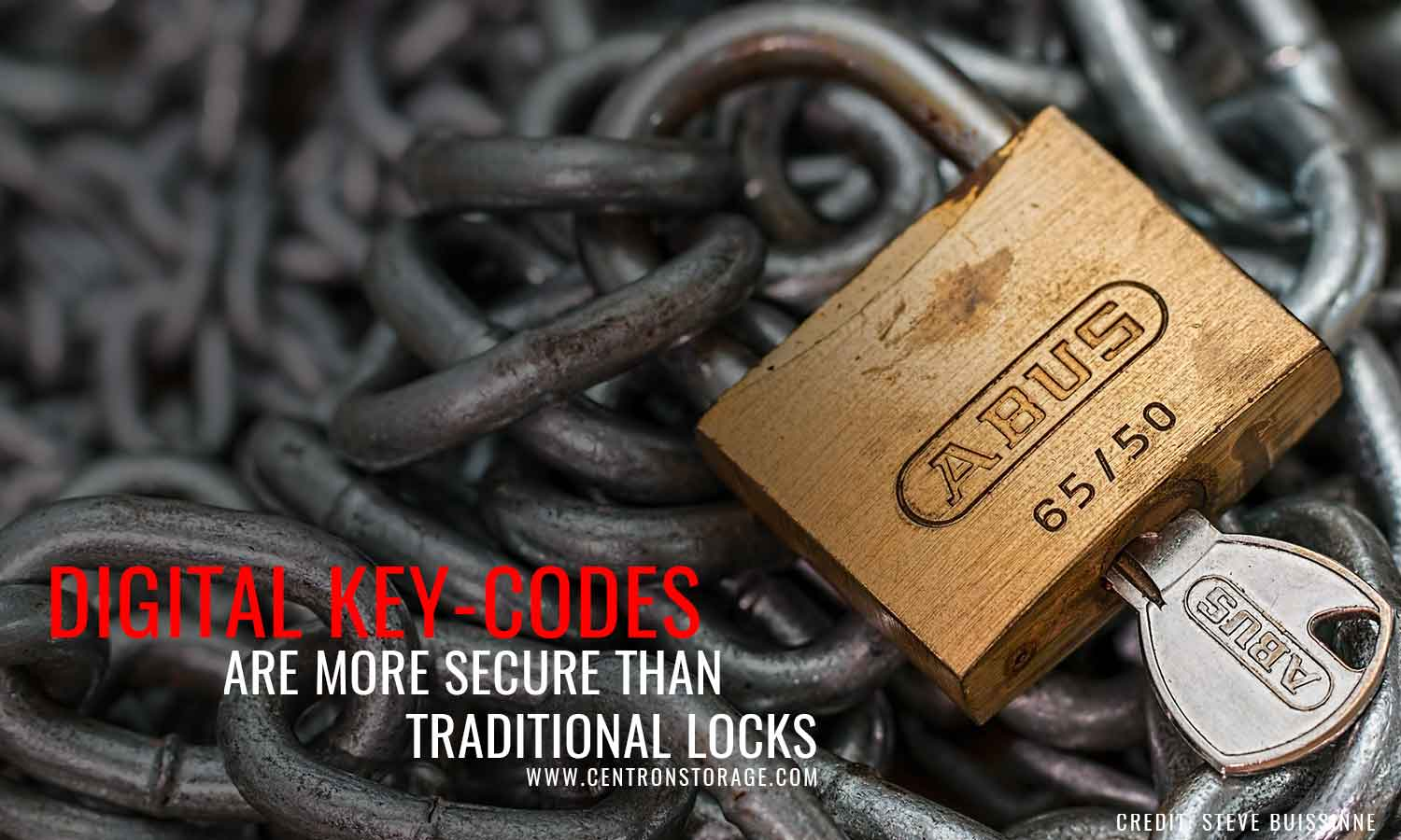 Digital key-codes are more secure than traditional locks