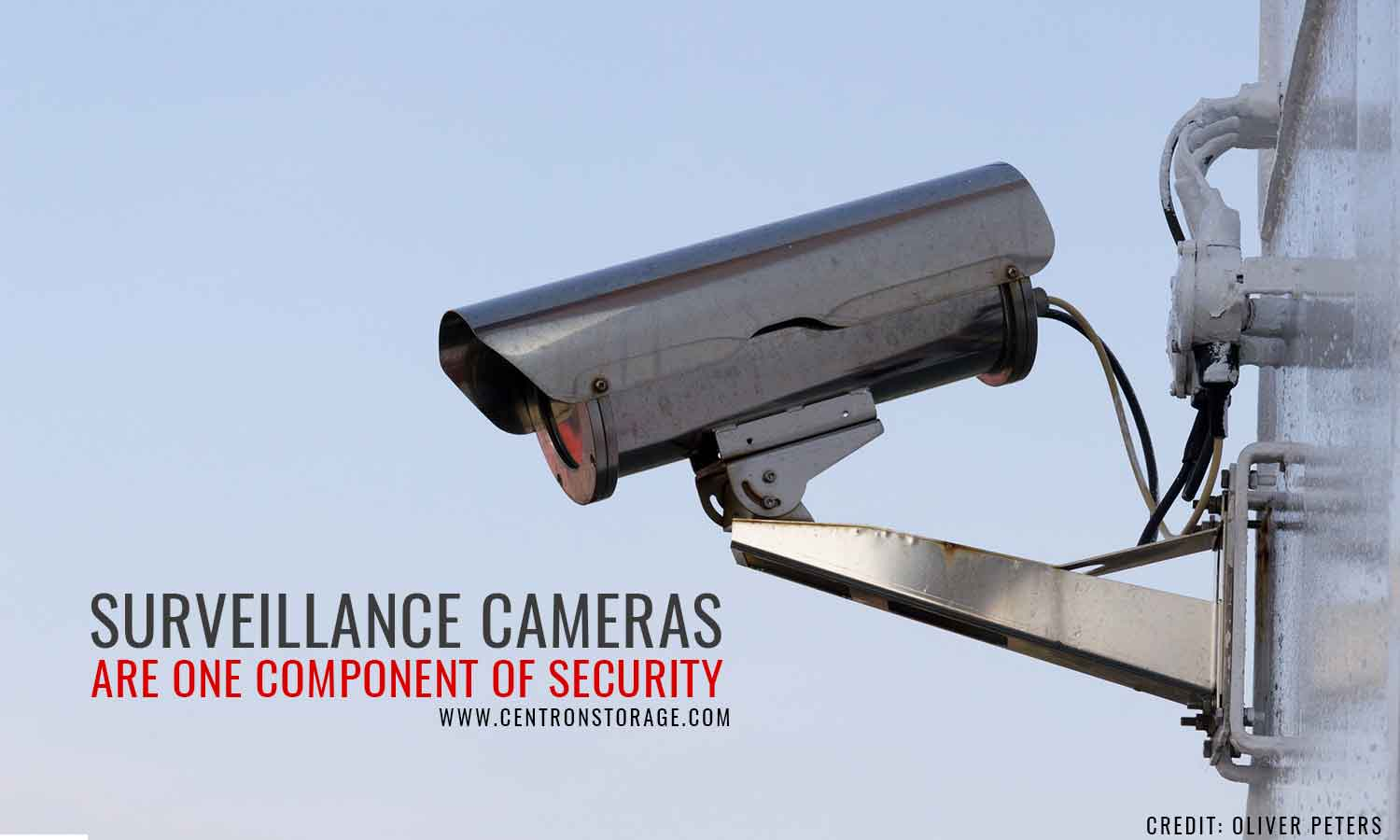 Surveillance cameras are one component of security