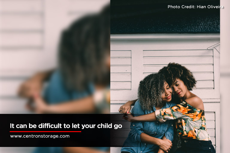 difficult to let your child go