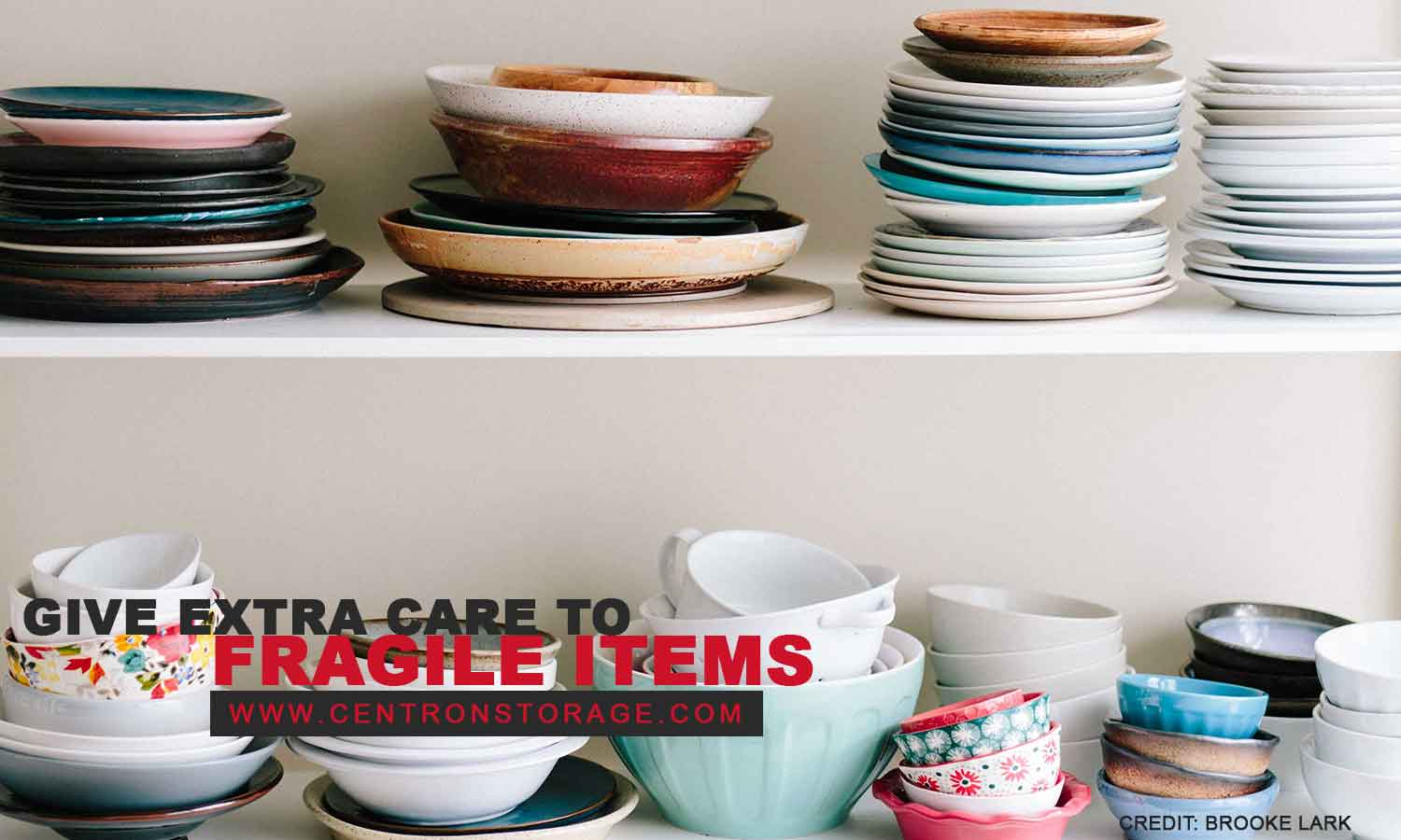 Give extra care to fragile items