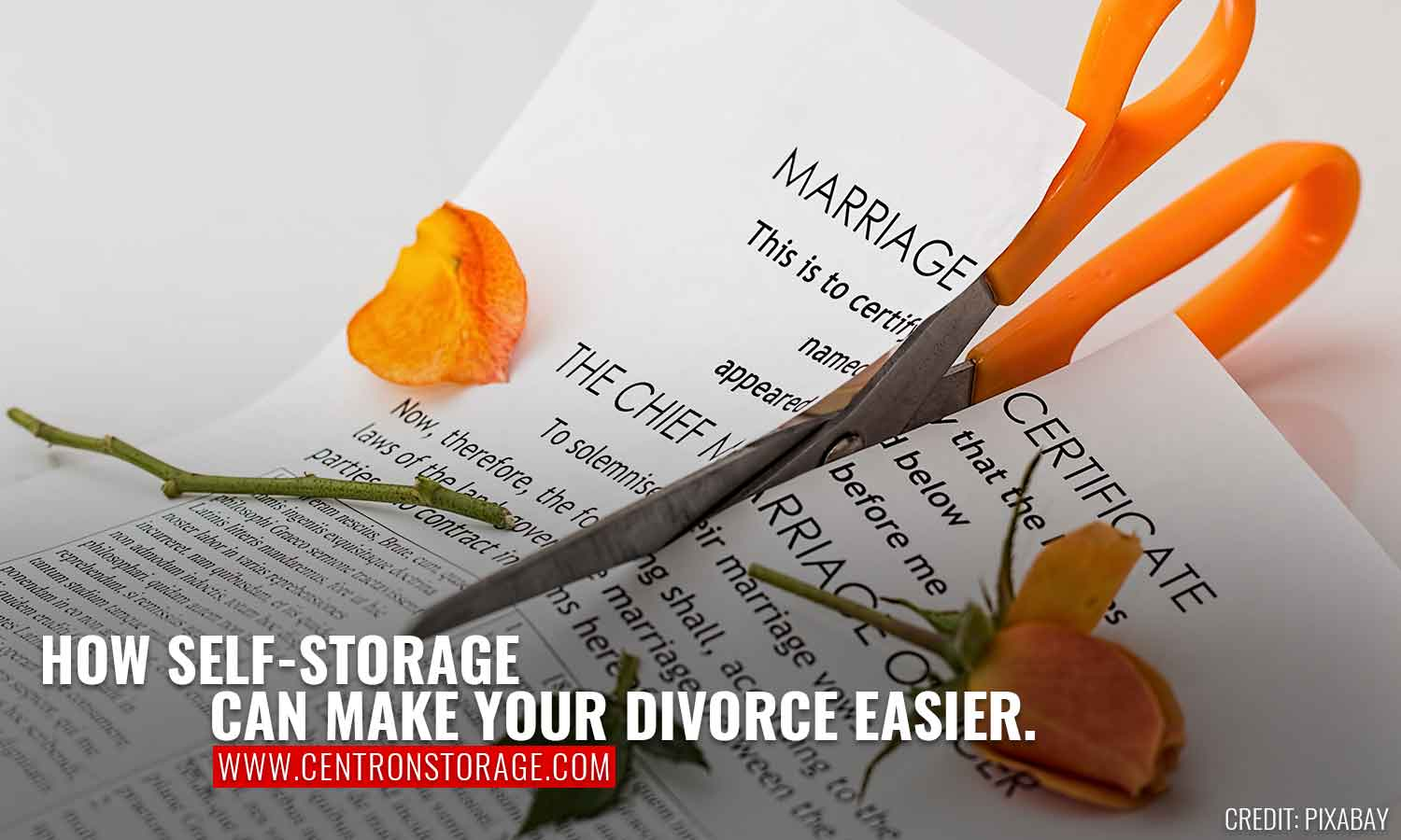 How Self-Storage Can Make Your Divorce Easier.