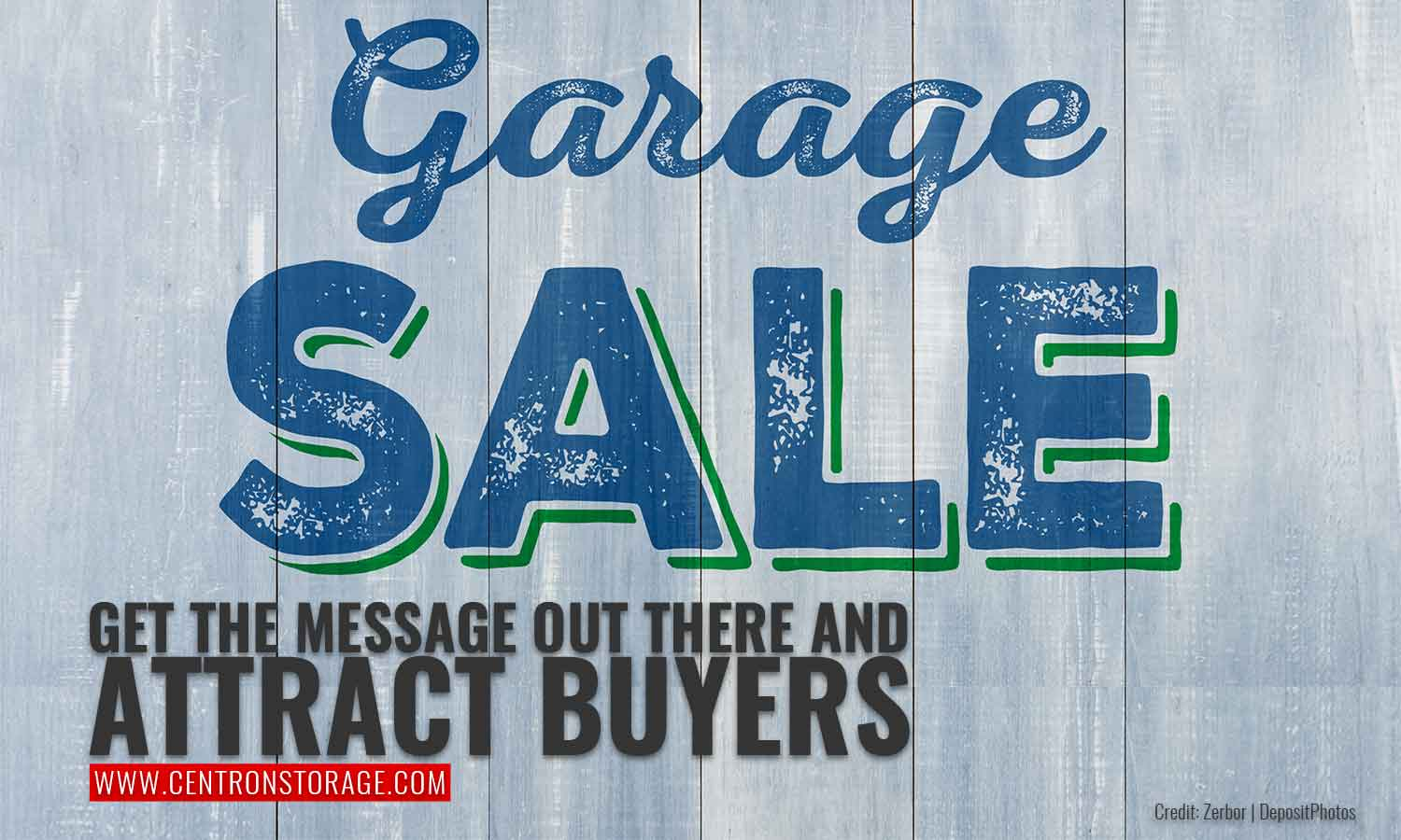 Get the message out there and attract buyers