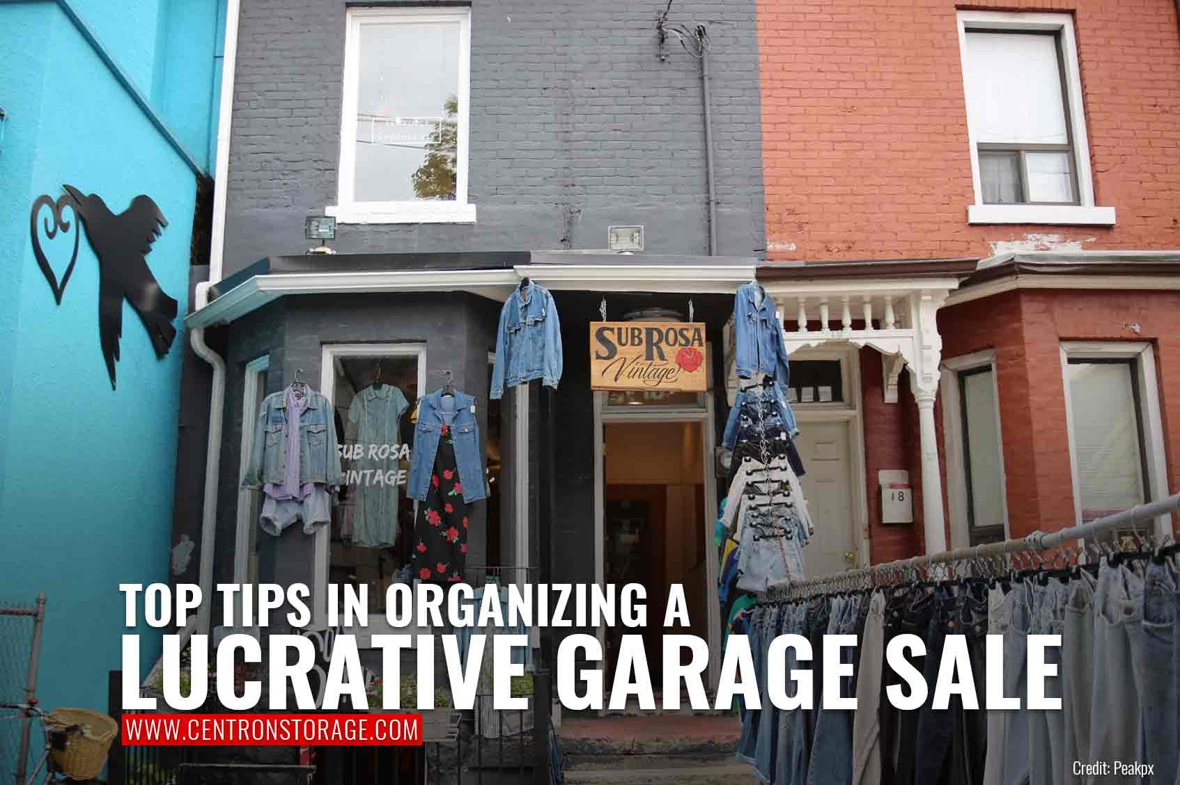 Top Tips in Organizing a Lucrative Garage Sale