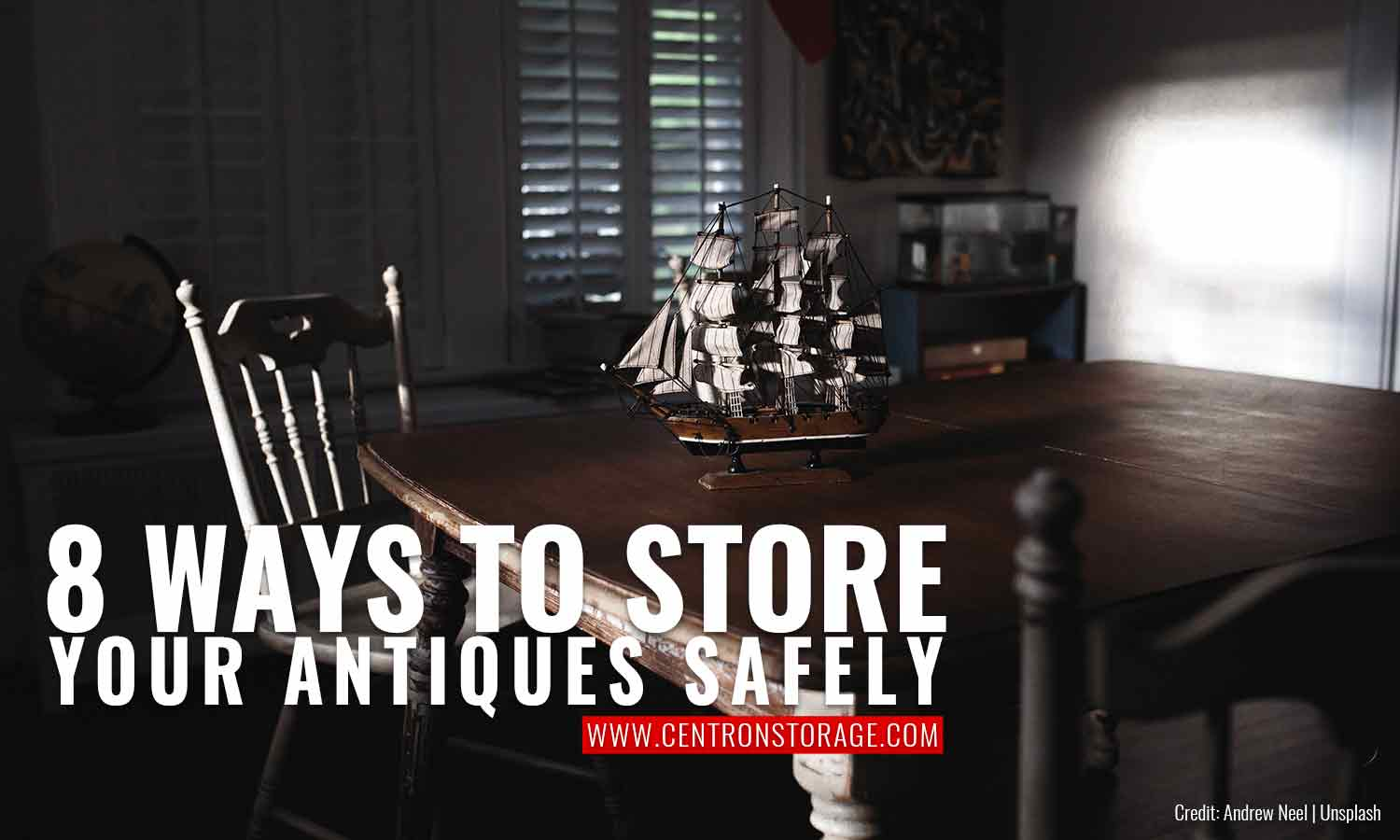 8 Ways to Store Your Antiques Safely