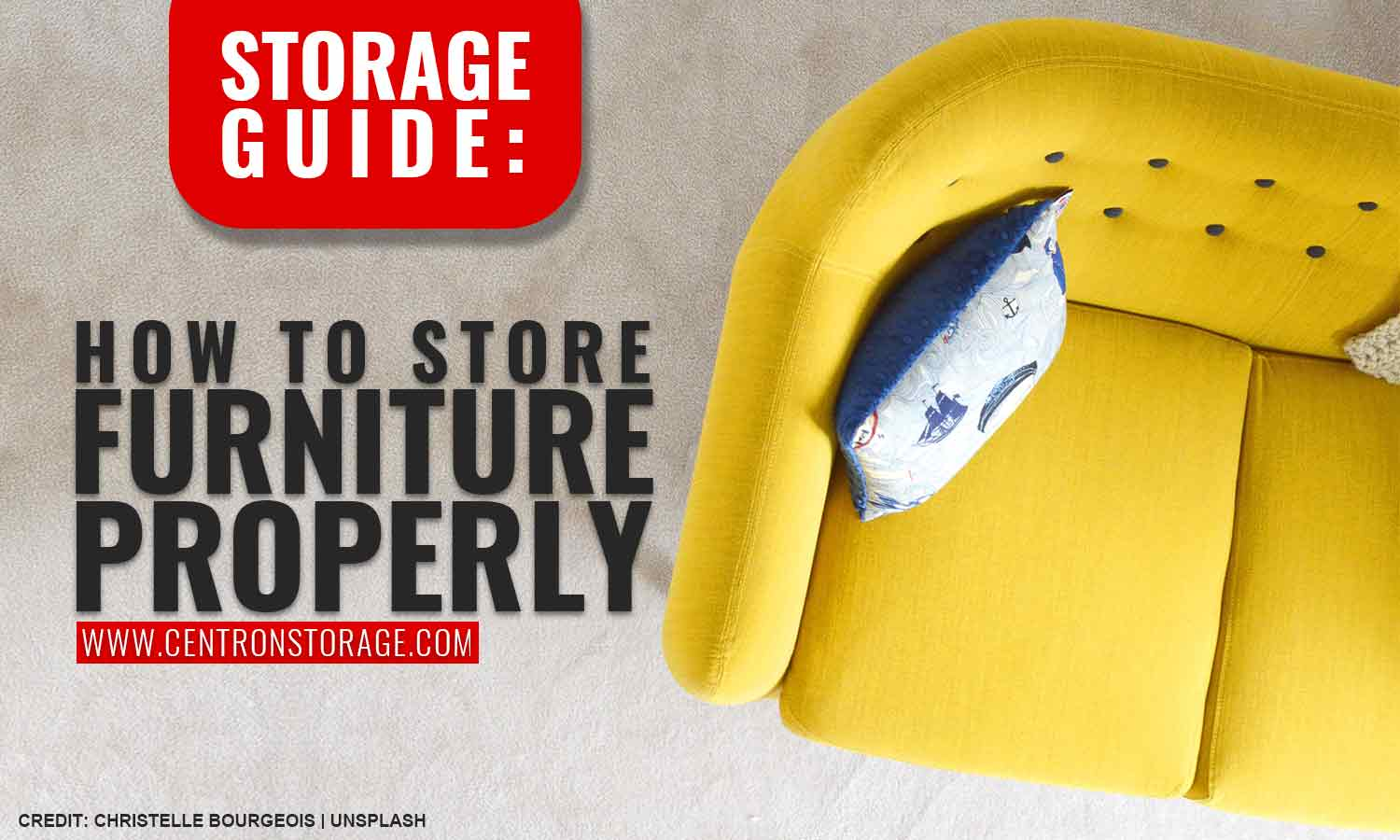 Storage Guide: How to Store Furniture Properly