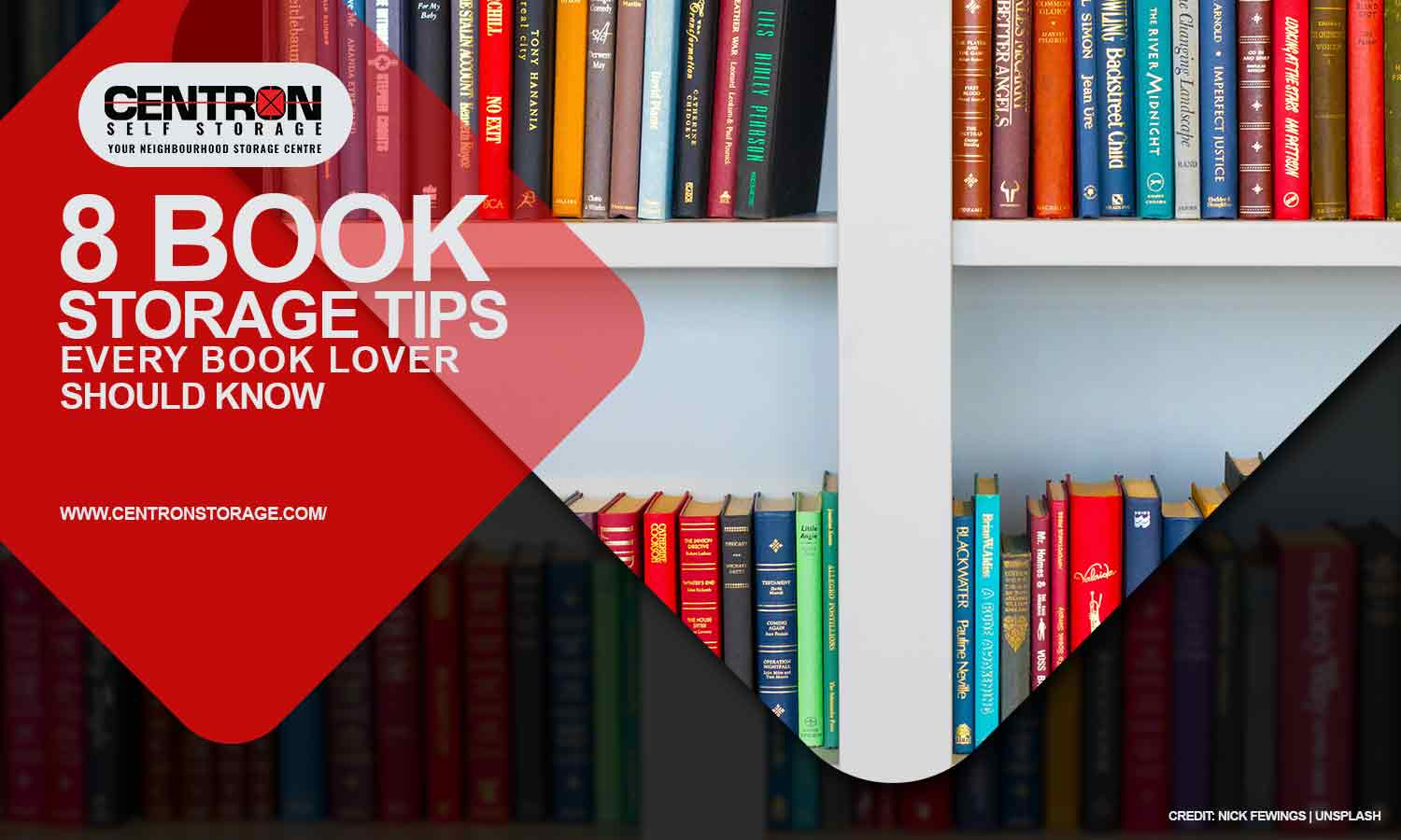8 Book Storage Tips Every Book Lover Should Know
