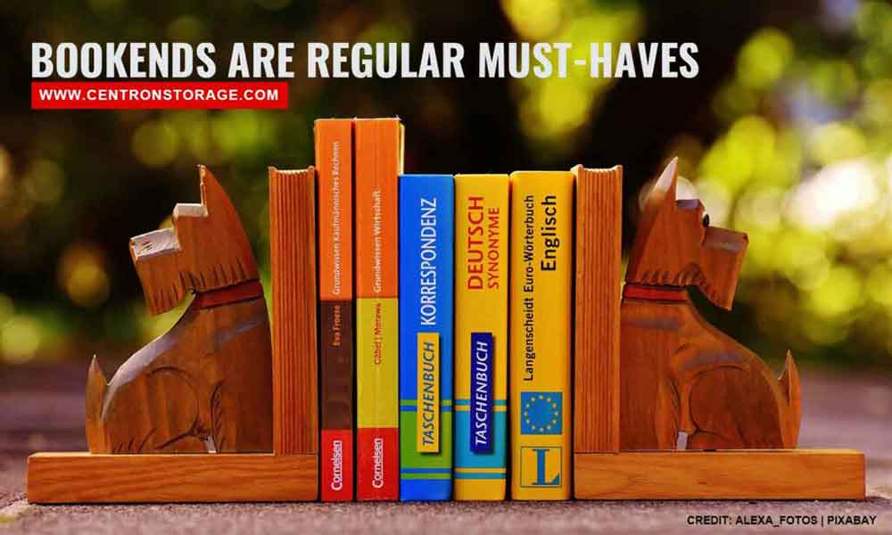 Bookends are regular must-haves
