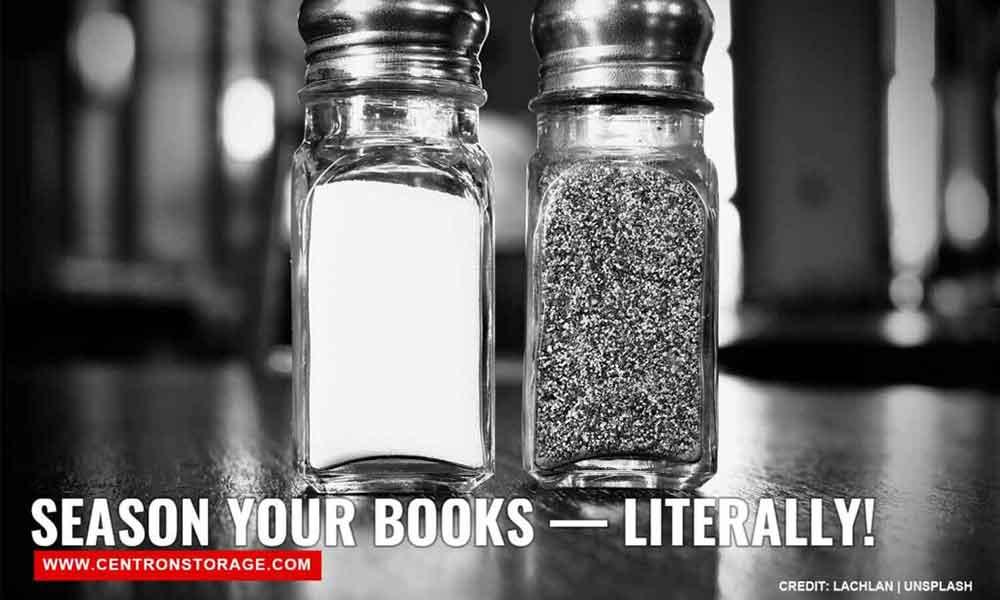 Season your books — literally!