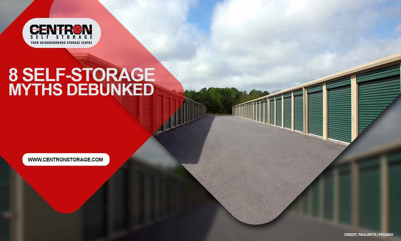 8 Self-Storage Myths Debunked
