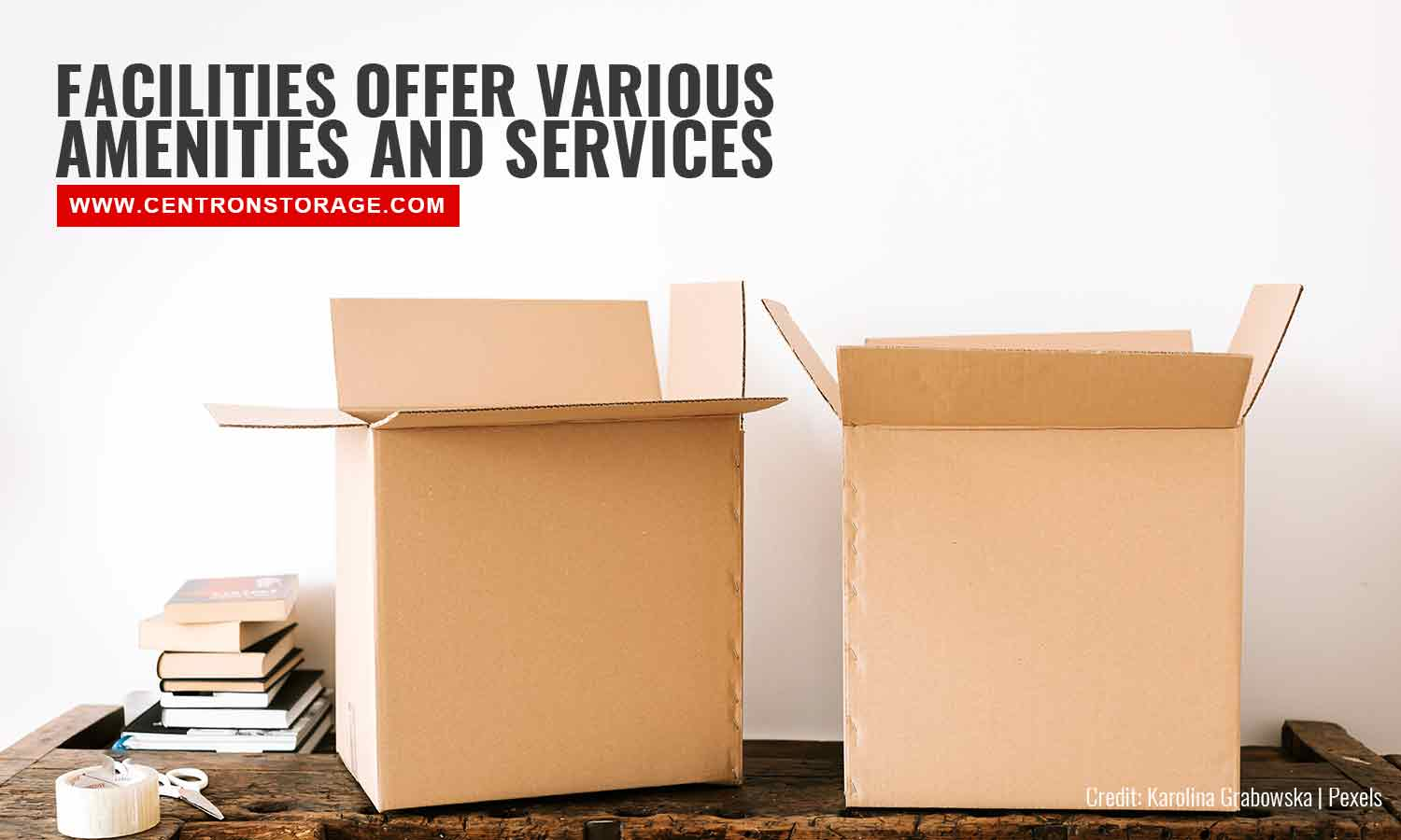 Facilities offer various amenities and services