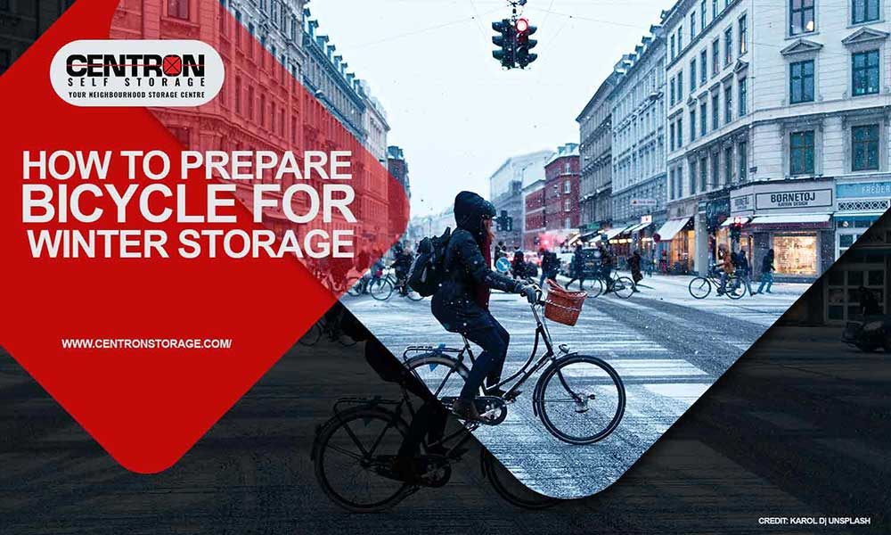 How to Prepare Bicycle for Winter Storage