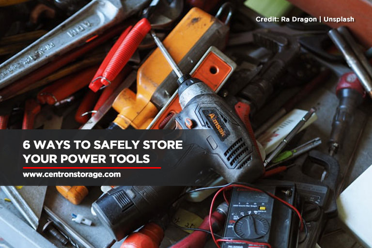 6 Ways To Safely Store Your Power Tools
