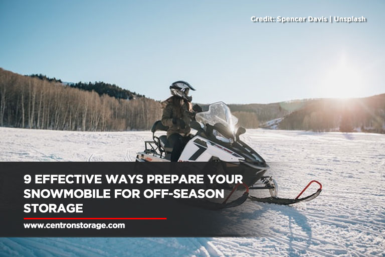 9 Effective Ways Prepare Your Snowmobile for Off-Season Storage