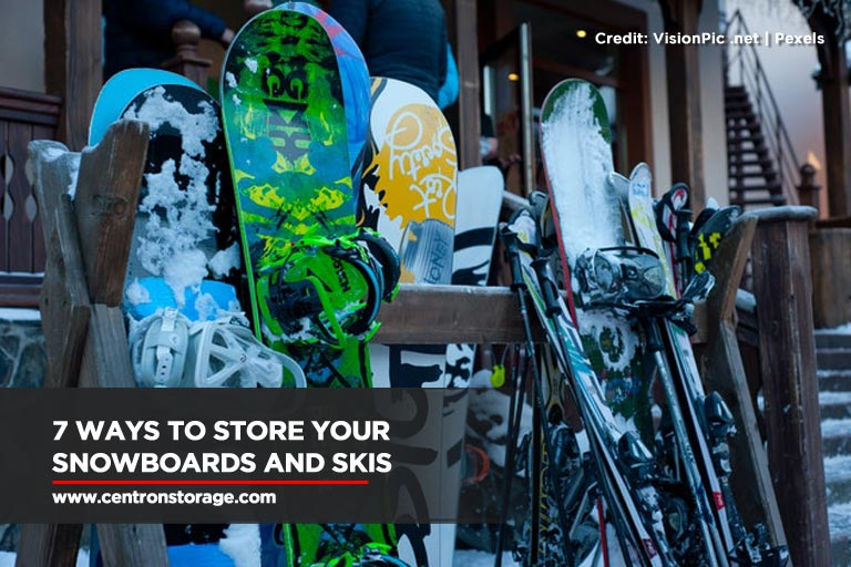 7 Ways To Store Your Snowboards and Skis