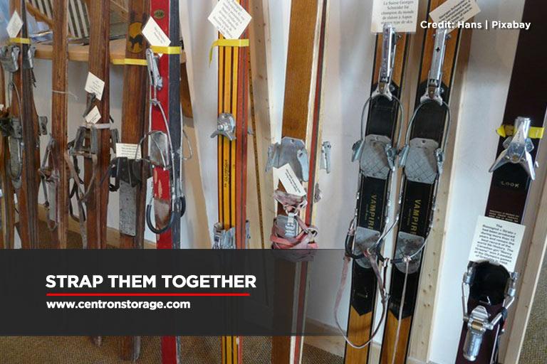 Strap them together