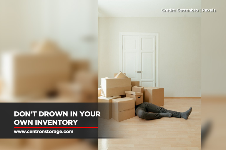 Don't drown in your own inventory
