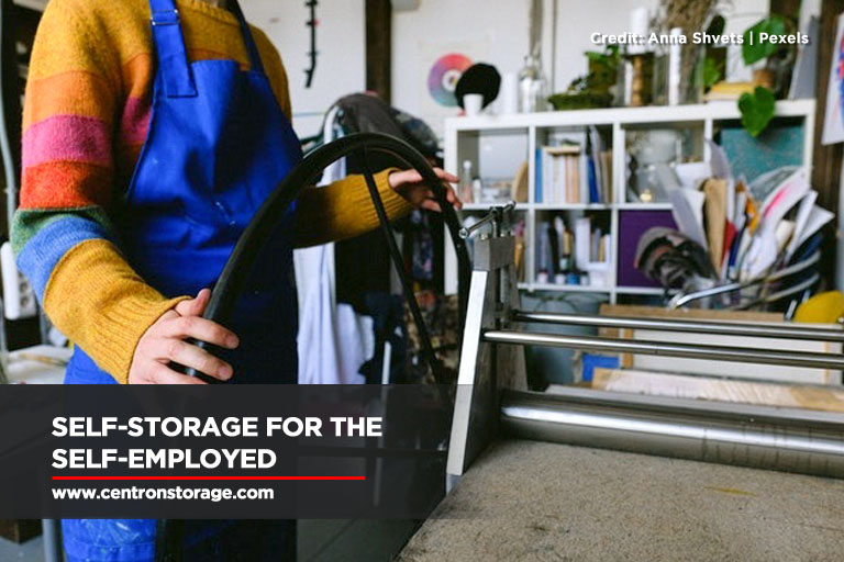 Self-Storage for the Self-Employed