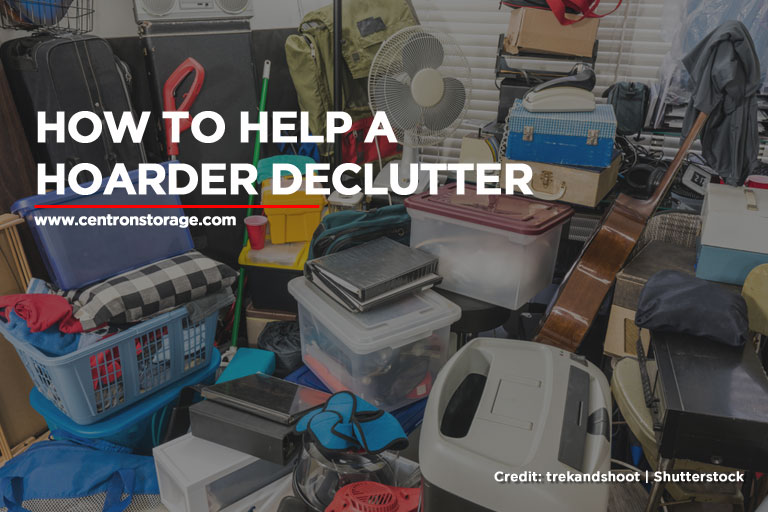 How to Help a Hoarder Declutter
